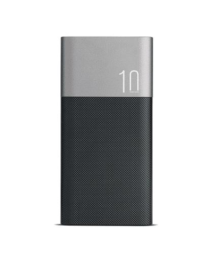 Aluminiowy Powerbank 10000mAh 2xUSB 1x Micro USB M555025