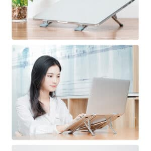aluminiowa podstawka stojak pod laptop